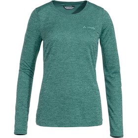VAUDE Essential Camiseta manga larga Mujer, nickel green